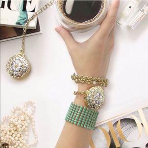 Baublebar locket bracelet